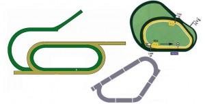 Horse Race Tracks