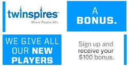 New Players get a Bonus at TwinSpires!