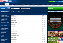 Cycling Betting with Betfred