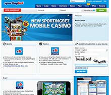 SportingBet Mobile Betting - Get Your £50 Free Bet!